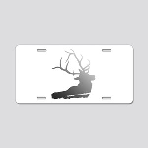 Stag Aluminum License Plate